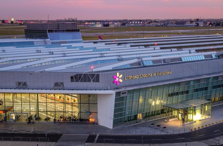 Главный аэропорт Варшавы избавится от чартеров