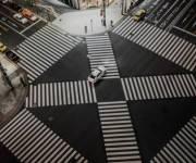 Пешеходные переходы хотят строить теперь и по диагонали