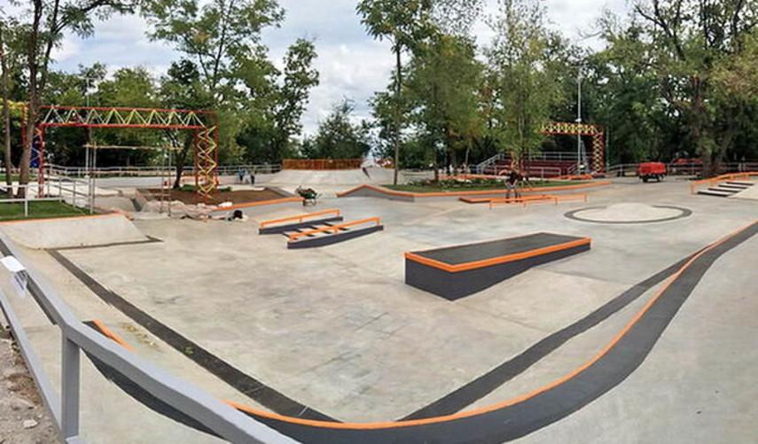 В Киева хотят построить самый большой в Украине скейт-парк