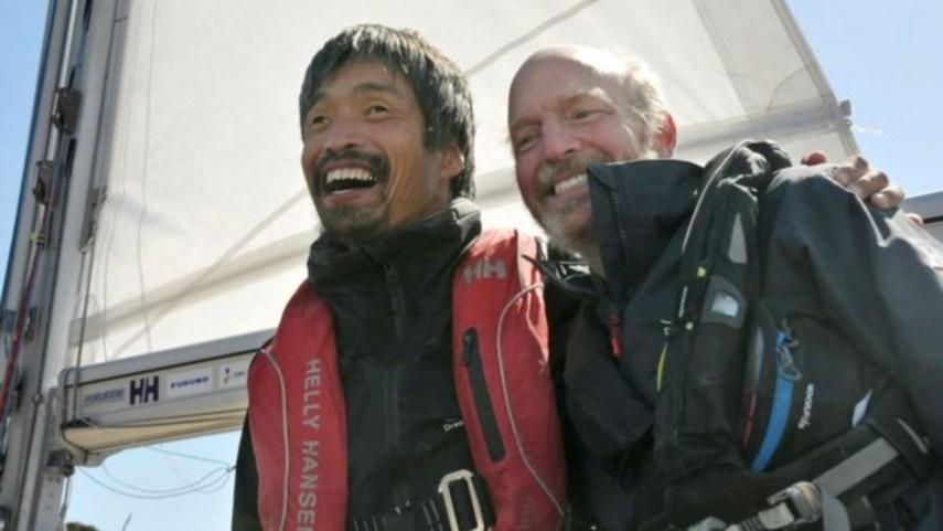 Незрячий японец на яхте пересек Тихий океан