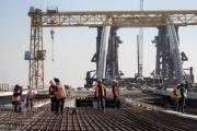 Киевлянам сообщили, как проходит строительство Подольско-Воскресенского моста