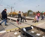 Жители «Соцгорода» просят обустроить переход через железнодорожные пути