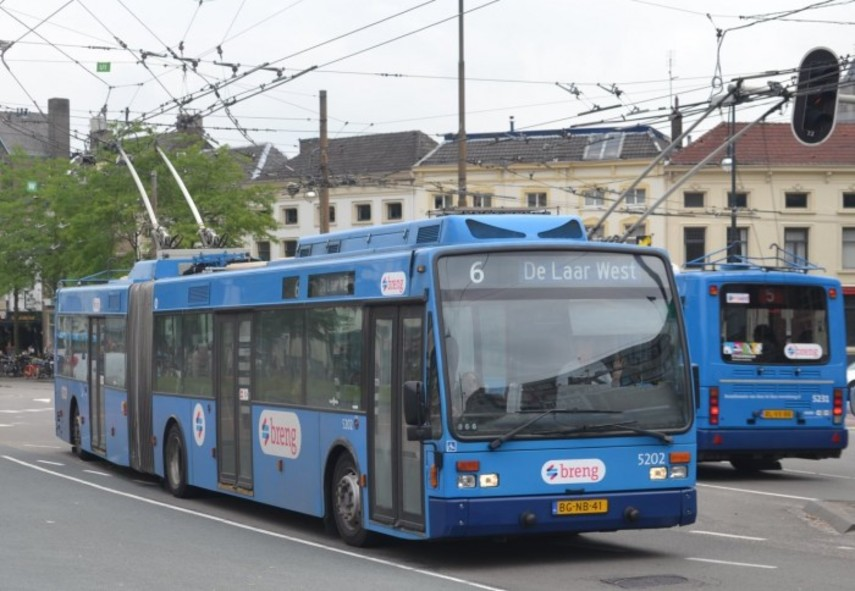 Запорожье купит 9 троллейбусов Van Hool
