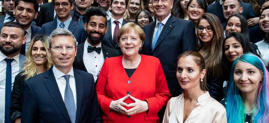 Ангела Меркель: «Будущее Германии зависит от иммиграции и интеграции»