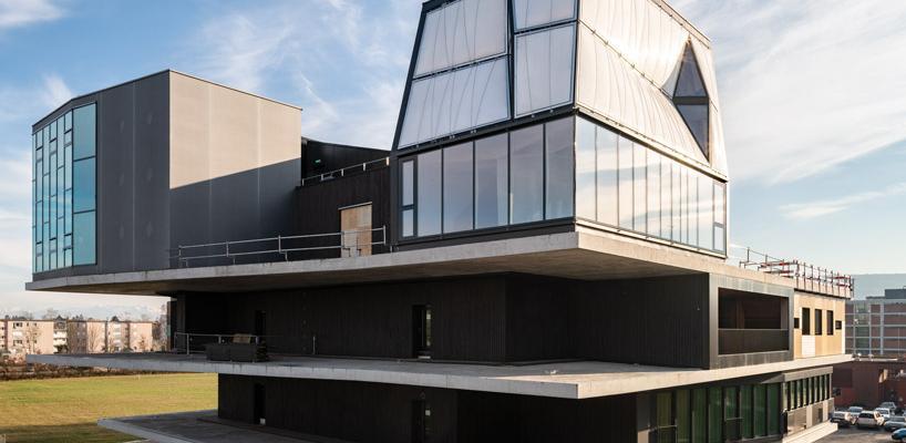 Трёхэтажный жилой дом в Швейцарии построили роботы