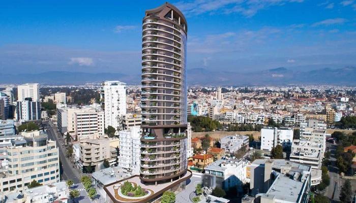 Самый высокий небоскрёб Кипра скоро достроят
