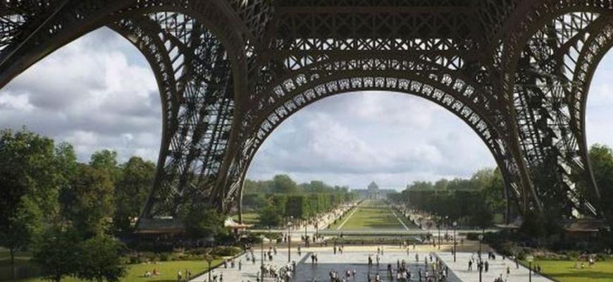 Вокруг Эйфелевой башни разобьют огромный сад за €72 млн