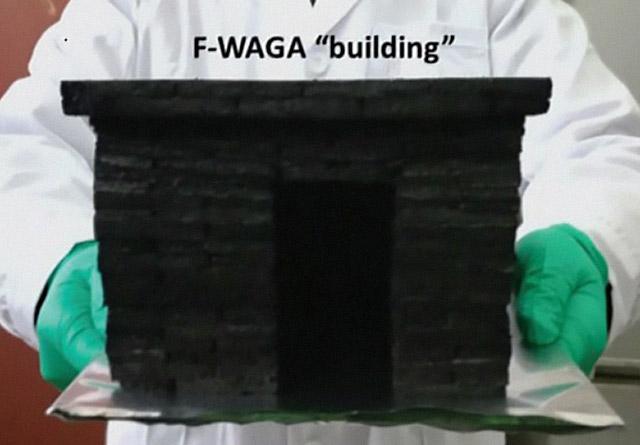 Китайские химики первыми построили сверхпрочную стену из графеновых кирпичей