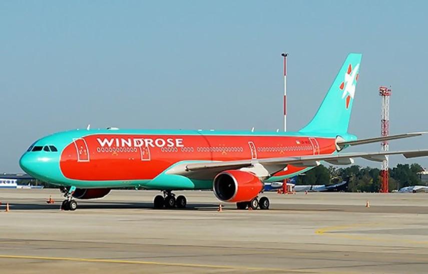 Windrose объявила о начале продаж билетов на рейсы Киев-Одесса и Одесса-Тель-Авив