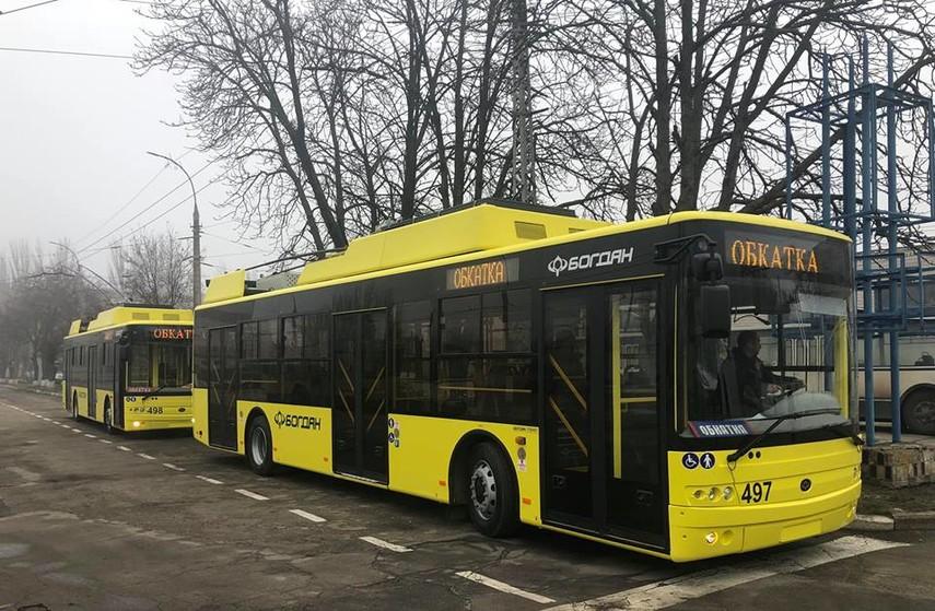 Хмельницкий закупит по 10 низкопольных троллейбусов и автобусов
