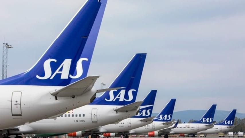 В Швеции, Дании и Норвегии отменены более 700 рейсов из-за забастовки в авиакомпании SAS