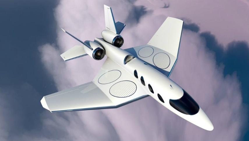 Африканская компания разработает самолет бизнес-класса с вертикальным взлетом (Фото)