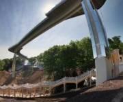 Расходы на строительство нового пешеходного моста в столице проверят