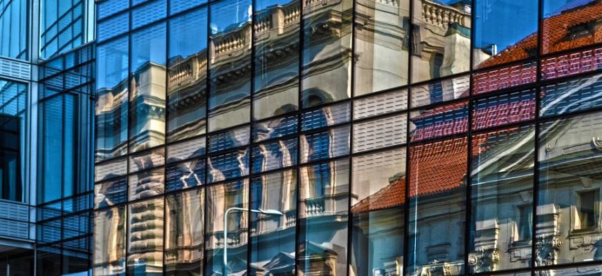 В Праге появится здание из стекла