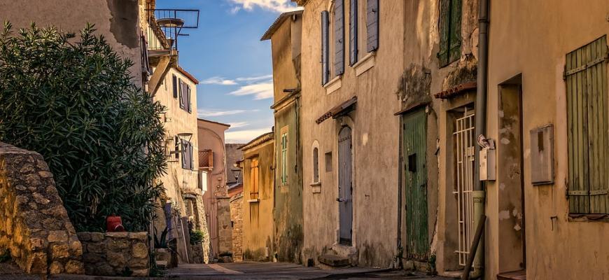 Дома в сельских районах Франции дорожают