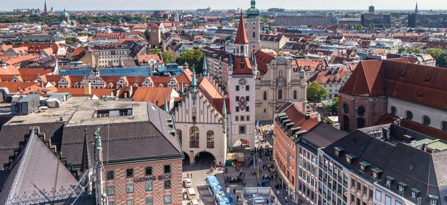 Недвижимость в Мюнхене подорожала на 100% за 10 лет