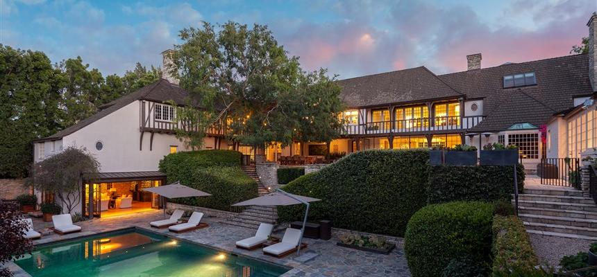 Бывший дом Брэда Питта и Дженифер Энистон выставлен на продажу
