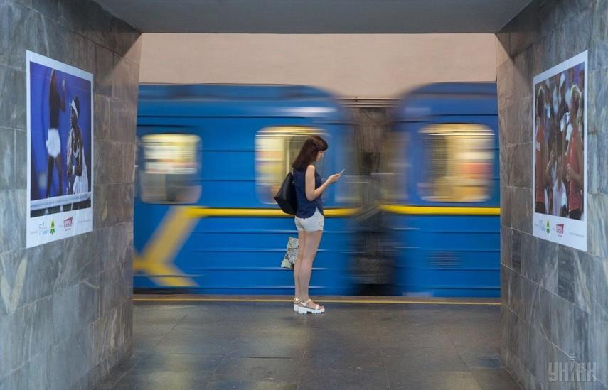 В Киеве сегодня могут ограничить вход на три станции метро
