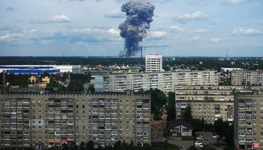 В России - взрыв на заводе по производству авиабомб, есть пострадавшие (Видео)