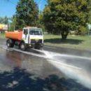 Улицы столицы усиленно поливают из-за жары