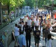 В столице открыли обновленную Аллею художников
